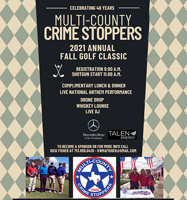 Crime Stoppers 2021 Fall Golf Classic